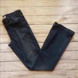 Gap 1969 Baby Boot Cut Medium Wash Jeans 30 Long